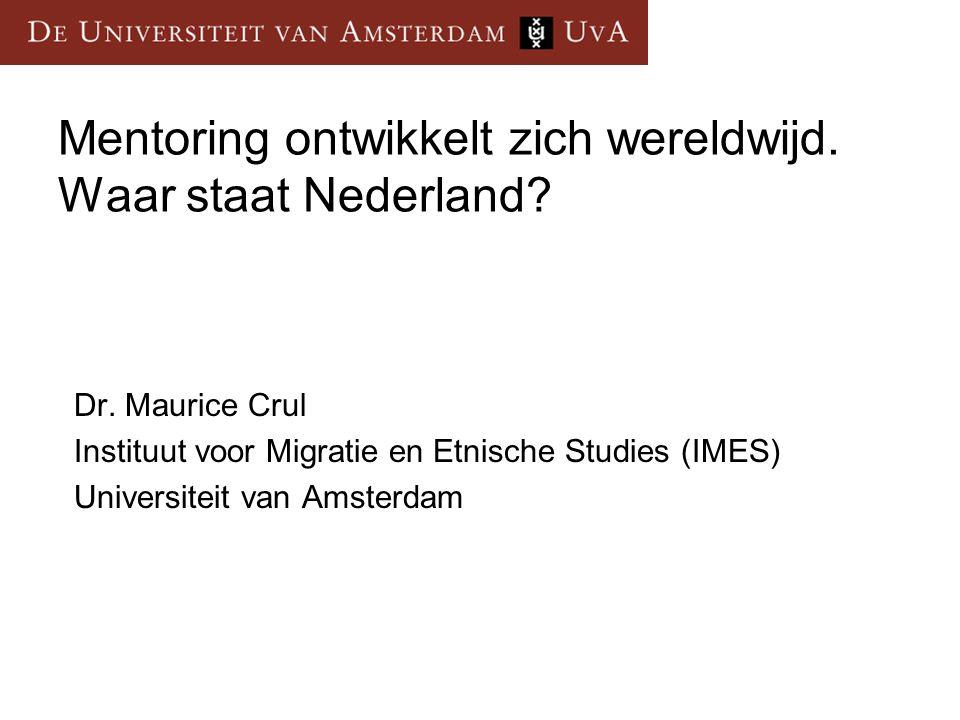 Lezing Methodiek ontwikkeling in Nederland Projecten in Stockholm en Hamburg Waar staat Nederland?