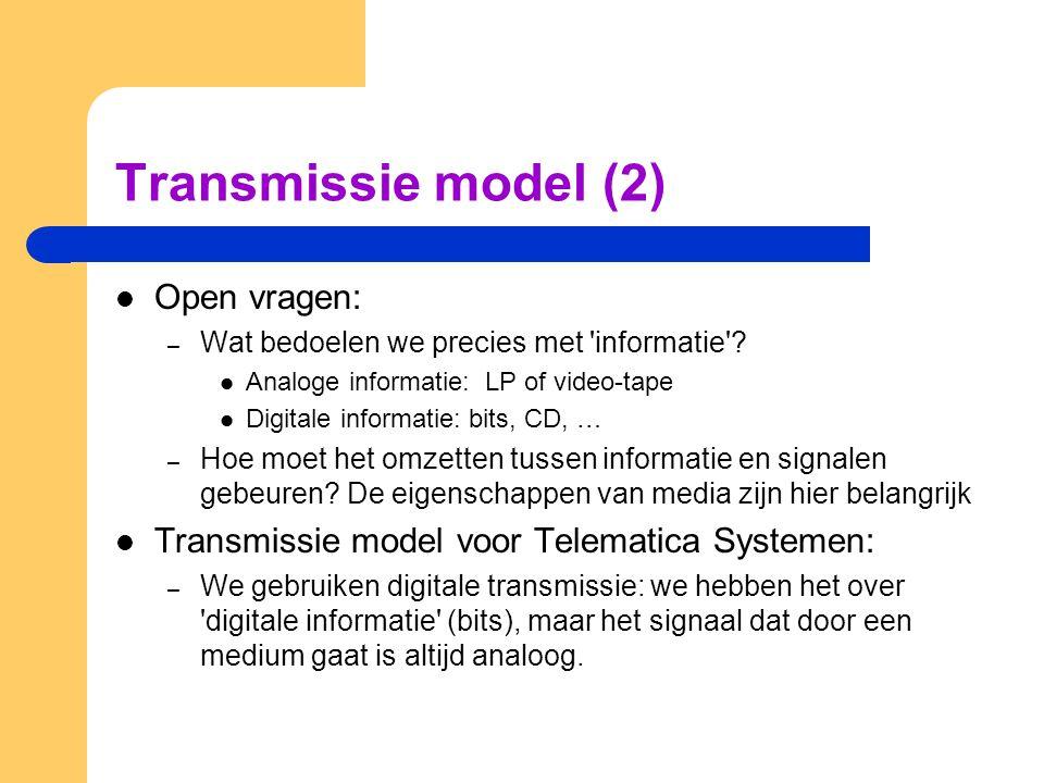 Vragen (Boek en presentatie) Wat is het OSI-model.