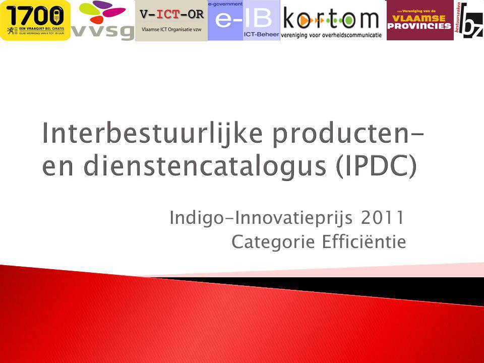 Indigo-Innovatieprijs 2011 Categorie Efficiëntie