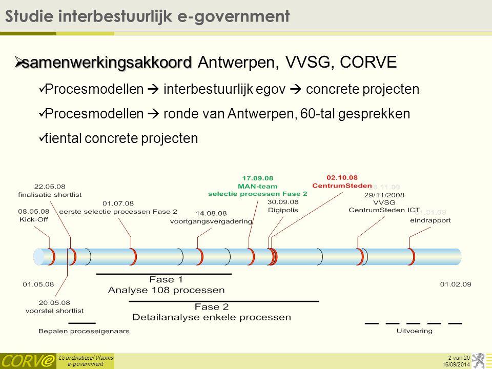 Coördinatiecel Vlaams e-government DL5 District en Loket – Burgerlijke Stand 16/09/2014 13 van 20