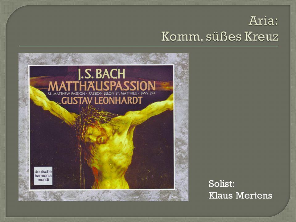 Solist: Klaus Mertens