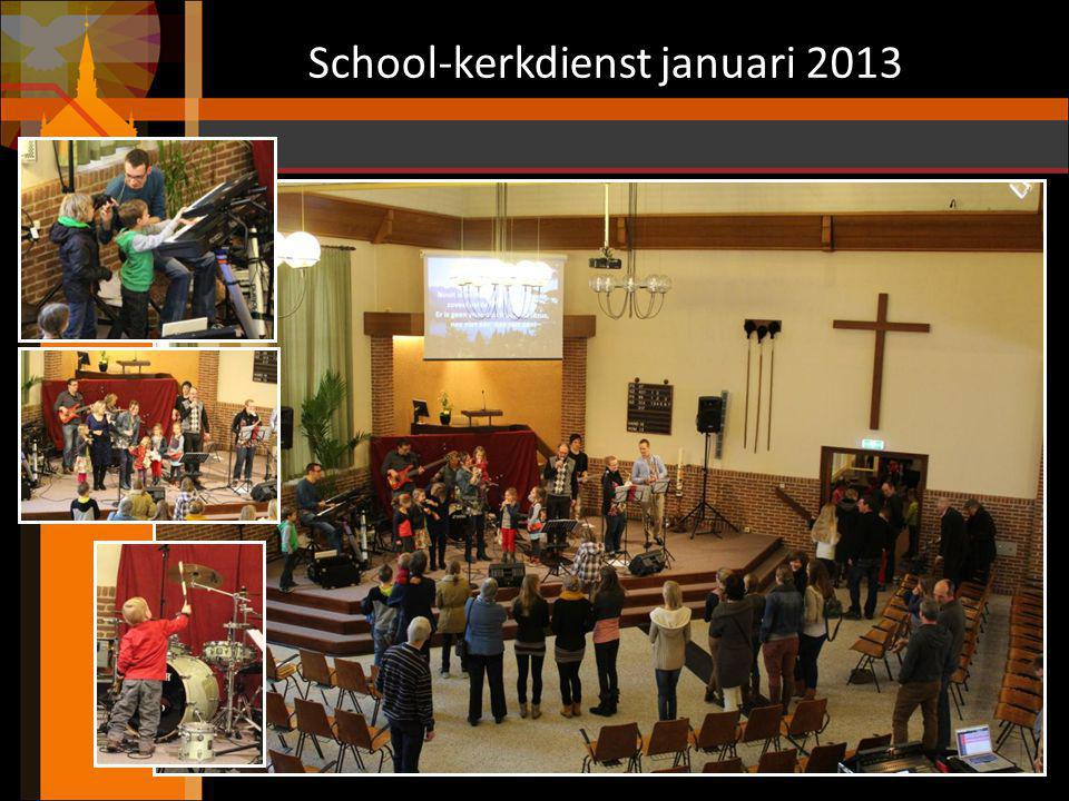 School-kerkdienst januari 2013