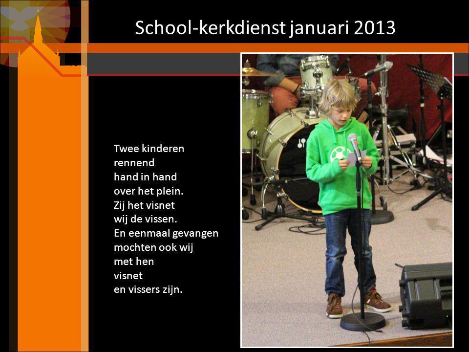 School-kerkdienst januari 2013 Sketches groep 7 Wordt er iemand gepest.