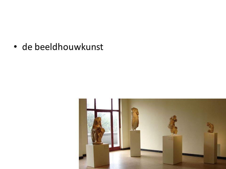 de beeldhouwkunst