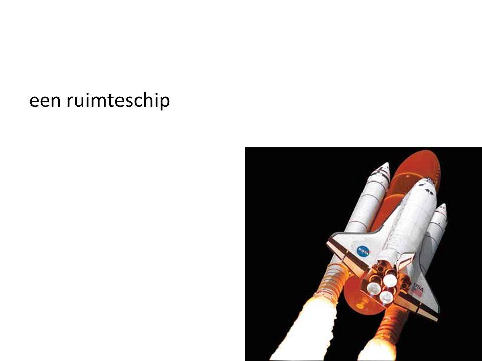 een ruimteschip