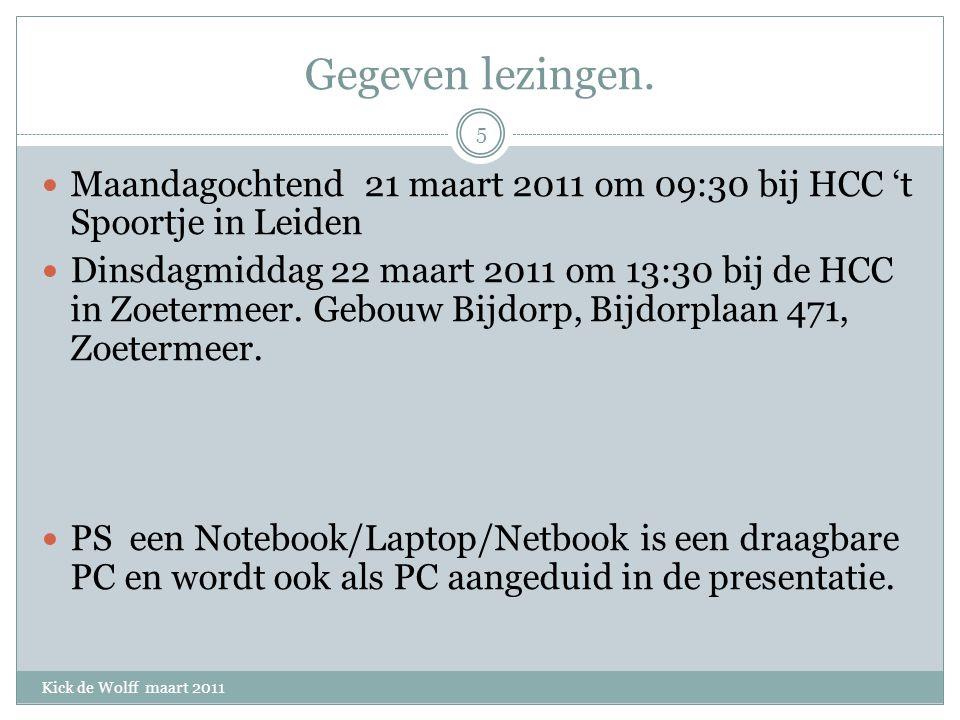 Ervaringen DROPBOX/ZUMODRIVE Kick de Wolff maart 2011 Van ZumoDrive heb ik geen handleiding kunnen vinden.