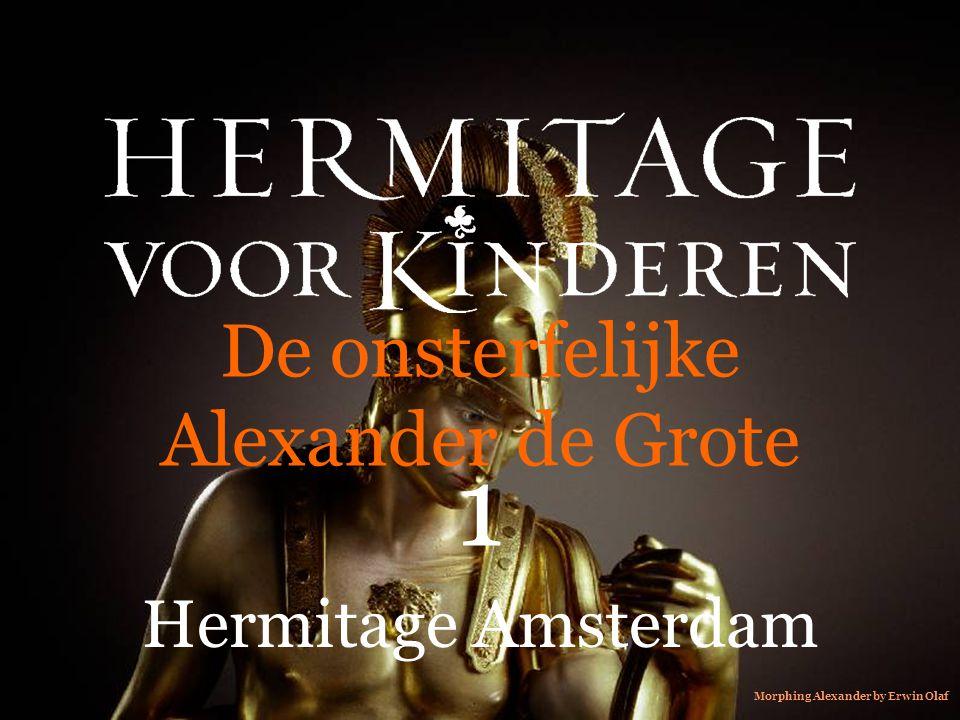 De onsterfelijke Alexander de Grote 1 Hermitage Amsterdam Morphing Alexander by Erwin Olaf