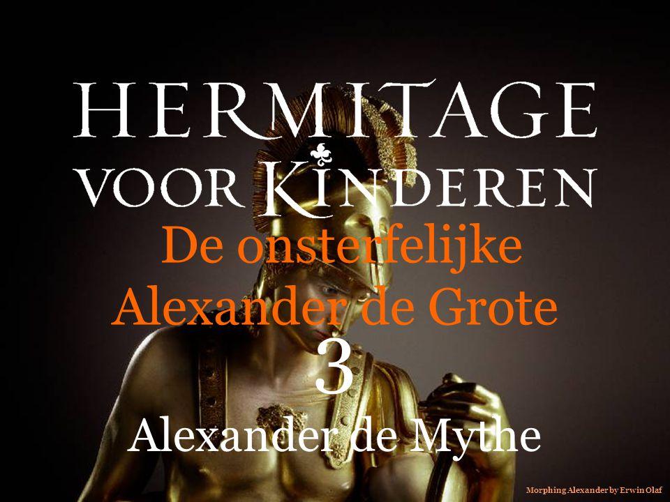 De onsterfelijke Alexander de Grote 3 Alexander de Mythe Morphing Alexander by Erwin Olaf