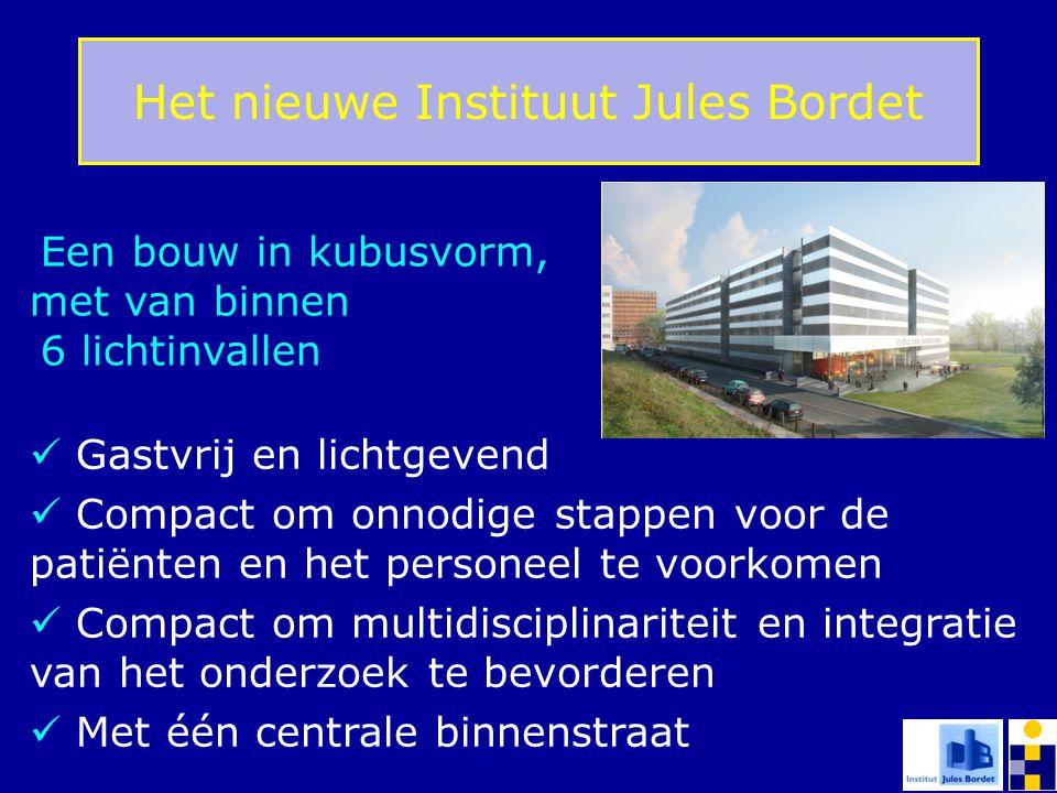 Gastvrij en lichtgevend Compact om onnodige stappen voor de patiënten en het personeel te voorkomen Compact om multidisciplinariteit en integratie van