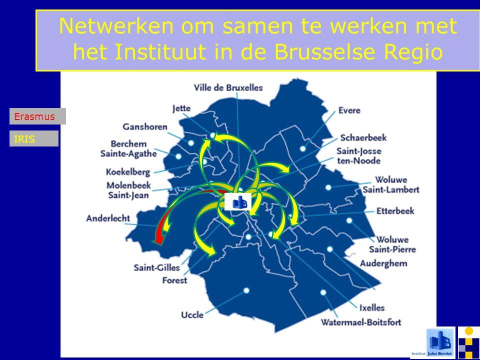 Erasmus IRIS Netwerken om samen te werken met het Instituut in de Brusselse Regio