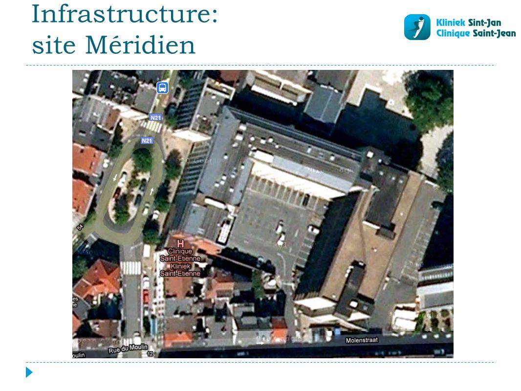 Infrastructure: site Méridien