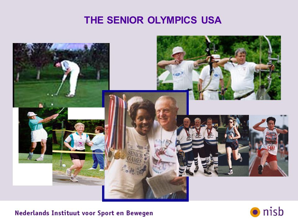 THE SENIOR OLYMPICS USA
