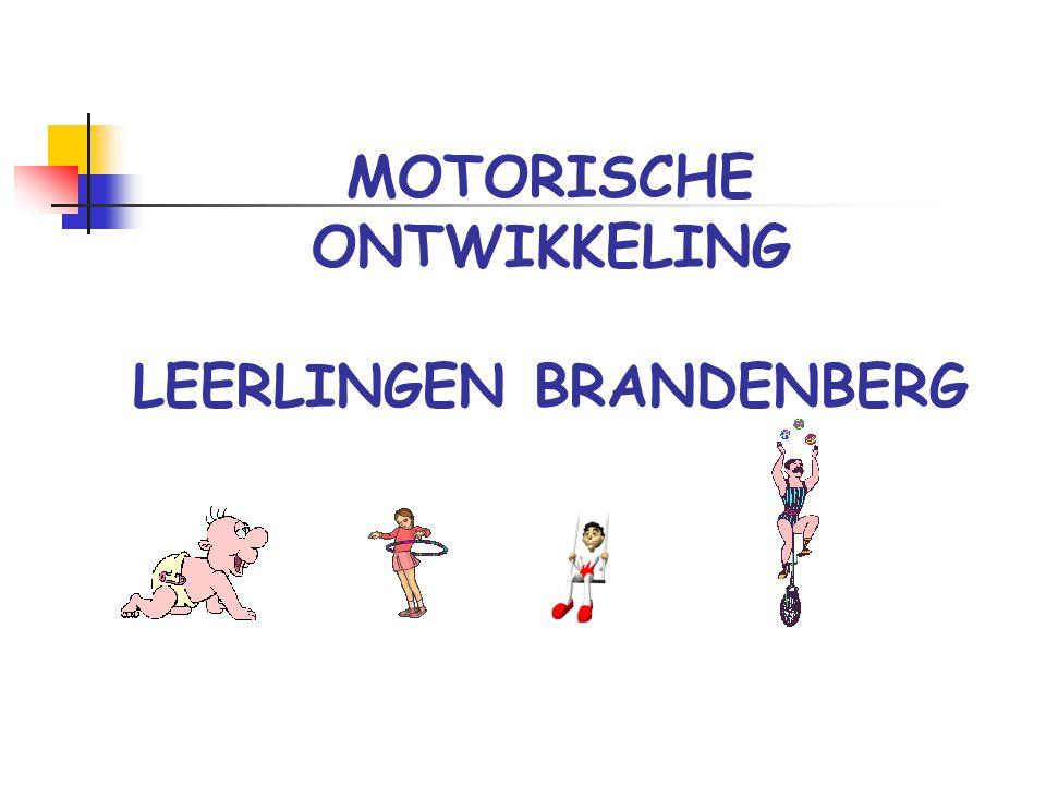 MOTORISCHE ONTWIKKELING LEERLINGEN BRANDENBERG