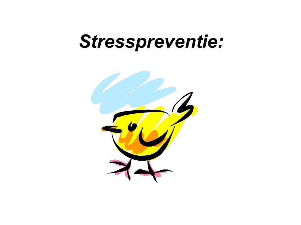 Stresspreventie: