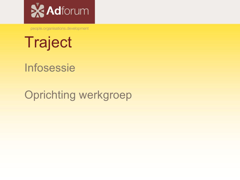 Traject in detail: bevraging Output per gedragsindicator → + open antwoorden