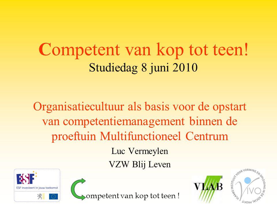Voorstelling MFC Blij Leven Hulpverlening in de Bijzondere Jeugdzorg Erkenning: 3 aparte voorzieningen in één VZW (totale cap.