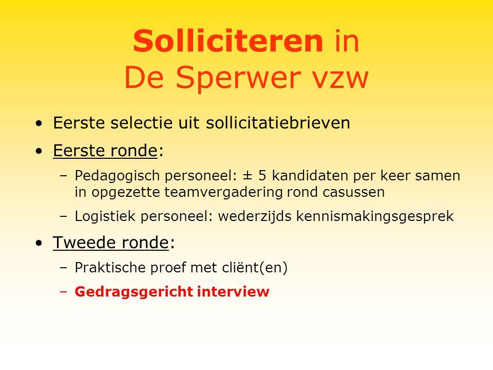 Gedragsgericht Interview Het selectie-interview Gedragsgericht interviewen bij het aanwerven van personeel Hendrik Derycke, 1999 ompetent van kop tot teen!