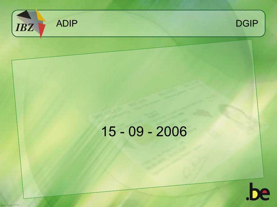 ADIP DGIP 15 - 09 - 2006