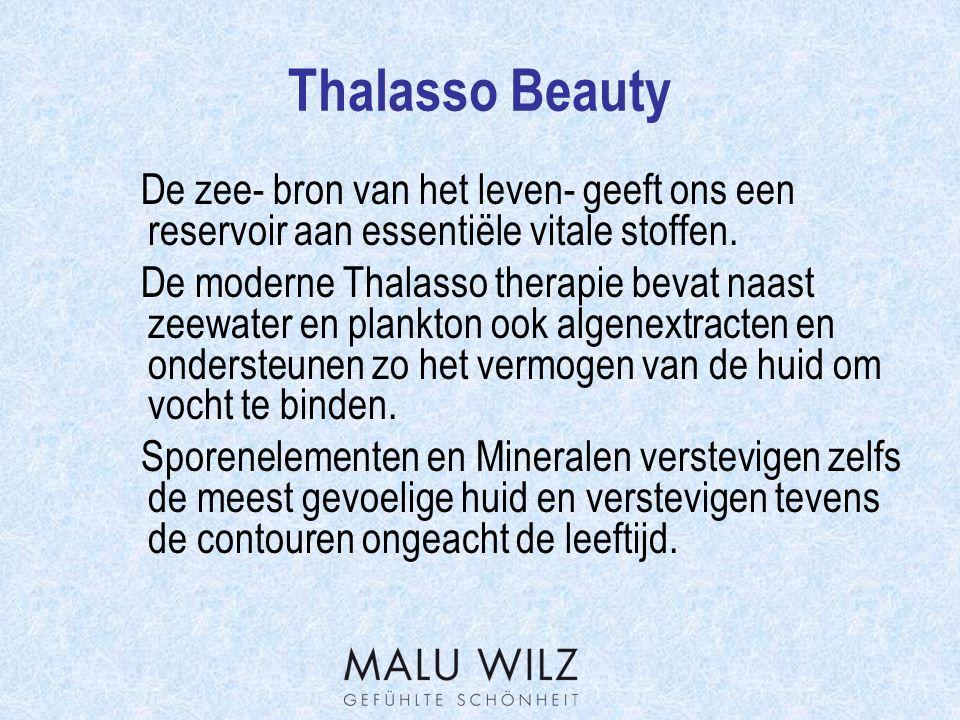 Thalasso Beauty De Producten Thalasso Hydro Gel Luchtige, frisse gelachtige crème voor de normale tot vochtarme huid.