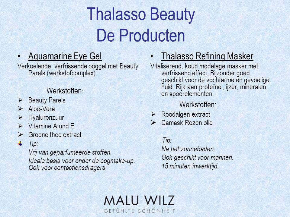 Thalasso Beauty Werkstofverklaring Calcium Sulfaat  Natuurlijk Mineraal in een zuivere vorm.