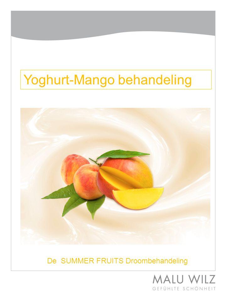 Yoghurt-Mango behandeling De SUMMER FRUITS Droombehandeling