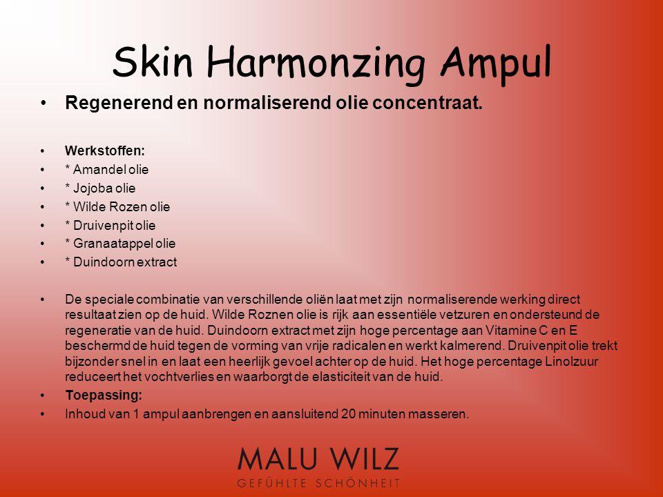 Vervolg Sensitive Skin 24 h Toepassing: Na zorgvuldige reiniging de huid s ochtends en s avonds met de Sensitive Skin 24 h inmasseren.