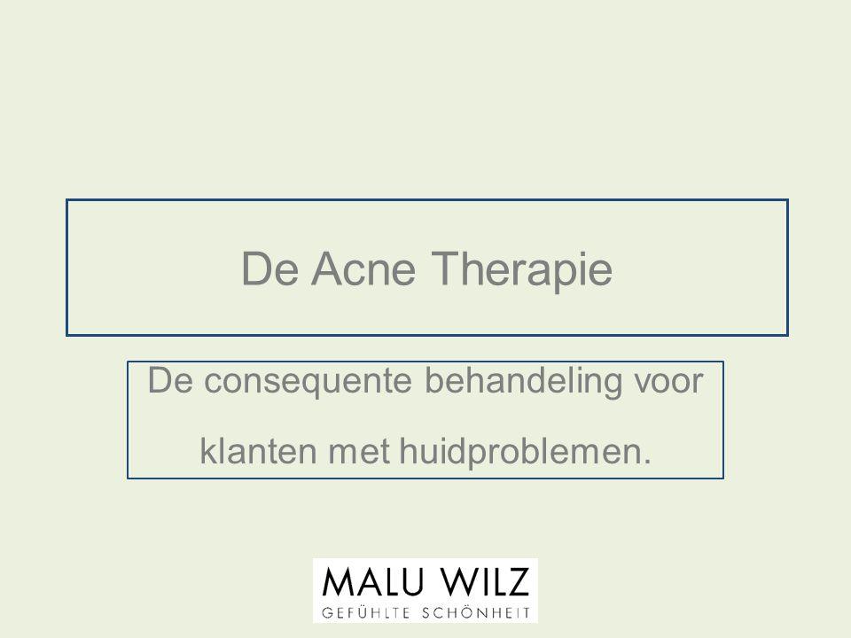 De Acne Therapie Inleiding Acne behandelingen zijn voor iedere schoonheids- specialiste een uitdaging.