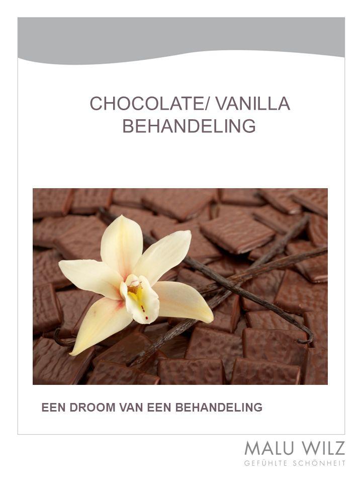 De nieuwe chocolade – vanille droom – de winterbehandeling.
