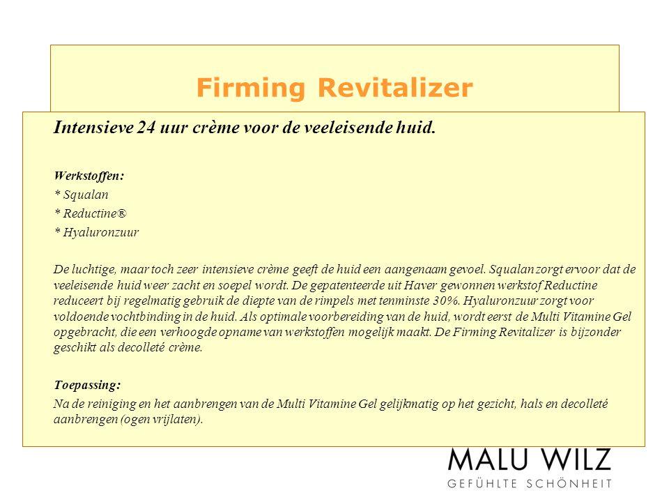 Firming Revitalizer Intensieve 24 uur crème voor de veeleisende huid.