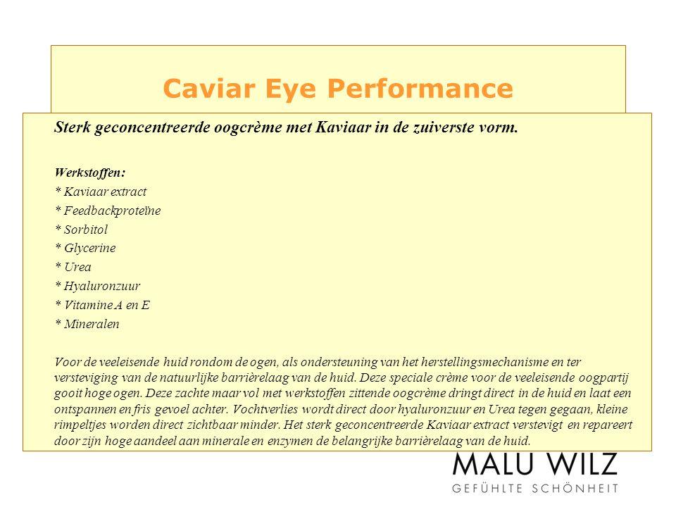 Caviar Eye Performance Sterk geconcentreerde oogcrème met Kaviaar in de zuiverste vorm.