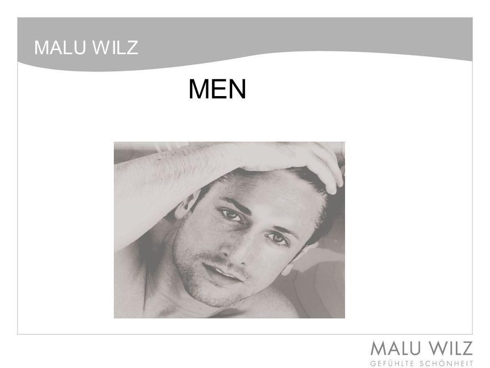 MALU WILZ MEN – Inleiding Op dit moment is de mannencosmetica een thema, waarbij de man er verzorgd uit wil zien en niet alleen een klassieke aftershave gebruikt, maar ook bewust kiest voor professionele behandelingen en de daarbij behorende verzorgende cremes.
