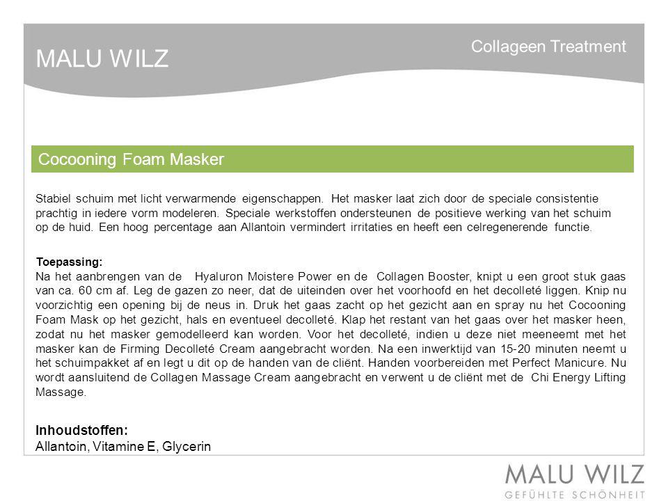 MALU WILZ Collagen Massage Cream Rijke Massage crème met een hoog percentage aan Native Collageen.