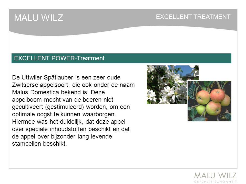 MALU WILZ EXCELLENT POWER-Treatment De Uttwiler Spätlauber is een zeer oude Zwitserse appelsoort, die ook onder de naam Malus Domestica bekend is. Dez