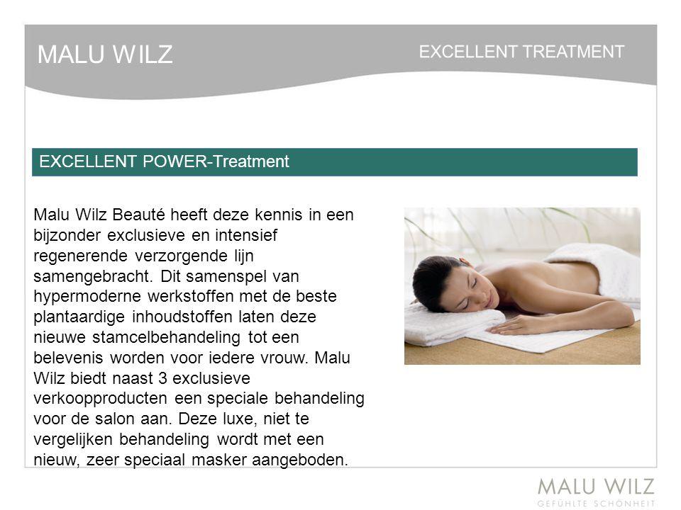MALU WILZ Malu Wilz Beauté heeft deze kennis in een bijzonder exclusieve en intensief regenerende verzorgende lijn samengebracht. Dit samenspel van hy