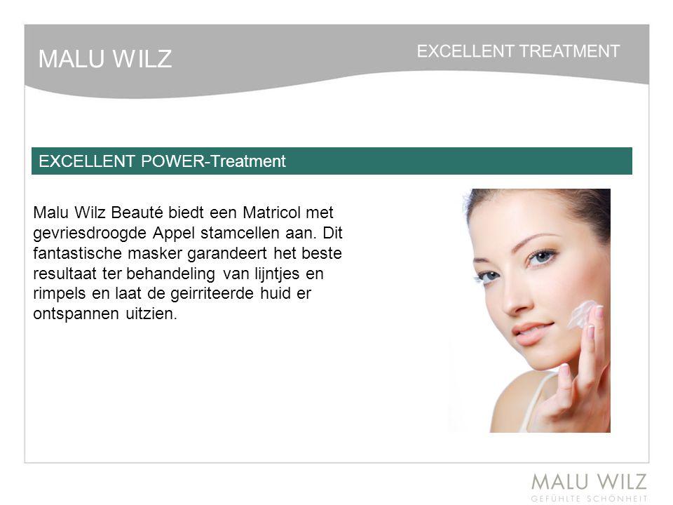 MALU WILZ Malu Wilz Beauté biedt een Matricol met gevriesdroogde Appel stamcellen aan. Dit fantastische masker garandeert het beste resultaat ter beha