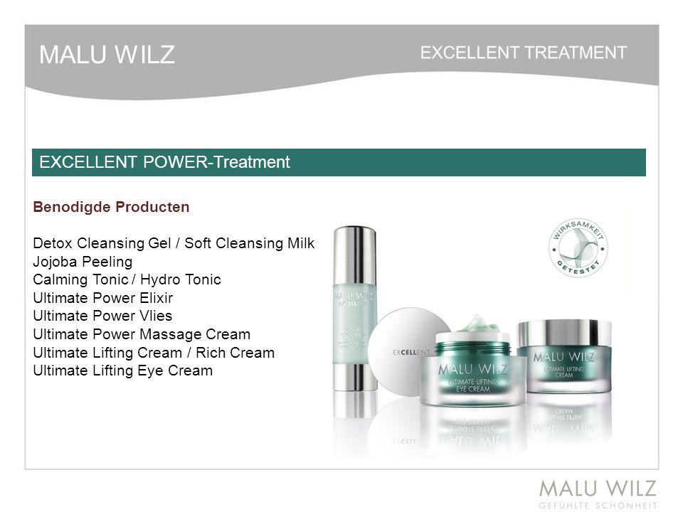 MALU WILZ Benodigde Producten Detox Cleansing Gel / Soft Cleansing Milk Jojoba Peeling Calming Tonic / Hydro Tonic Ultimate Power Elixir Ultimate Powe