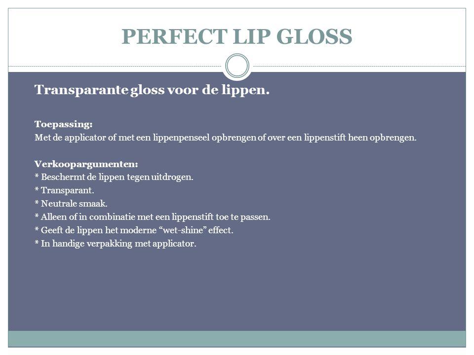 PERFECT LIP FIX IMPROVED QUALITY Fixatie voor de lippenstift.