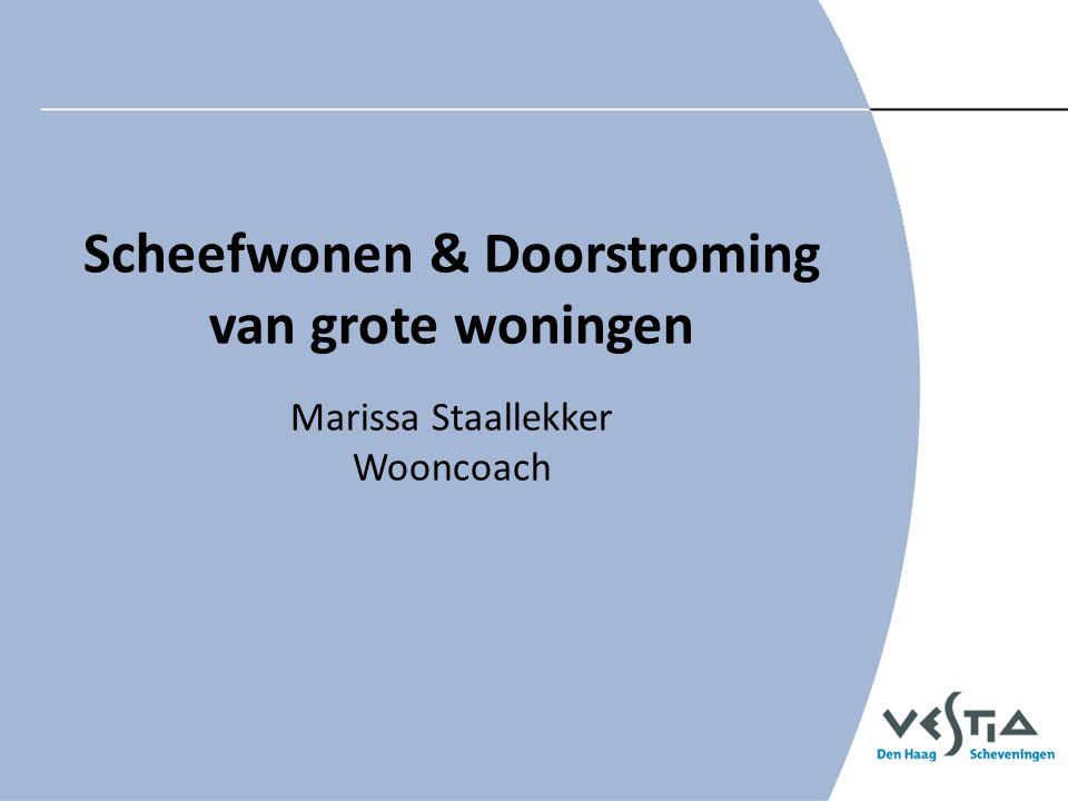 Scheefwonen & Doorstroming van grote woningen Marissa Staallekker Wooncoach