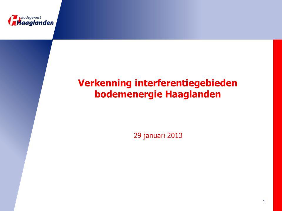 Inhoud Interferentie Regelgeving Vraag en aanbod Haaglanden Analyse en conclusies