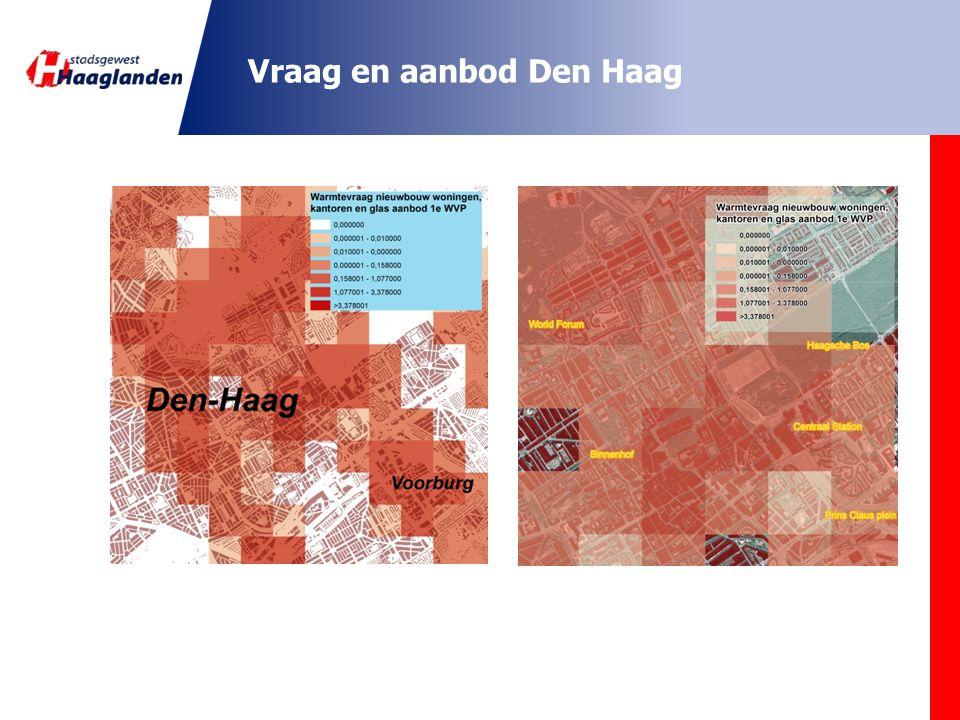 Analyse en conclusies Drukke gebieden in Haaglanden: Grote kantoorontwikkelingen Binnenstedelijk gebied Nieuwe woningbouw Glastuinbouw