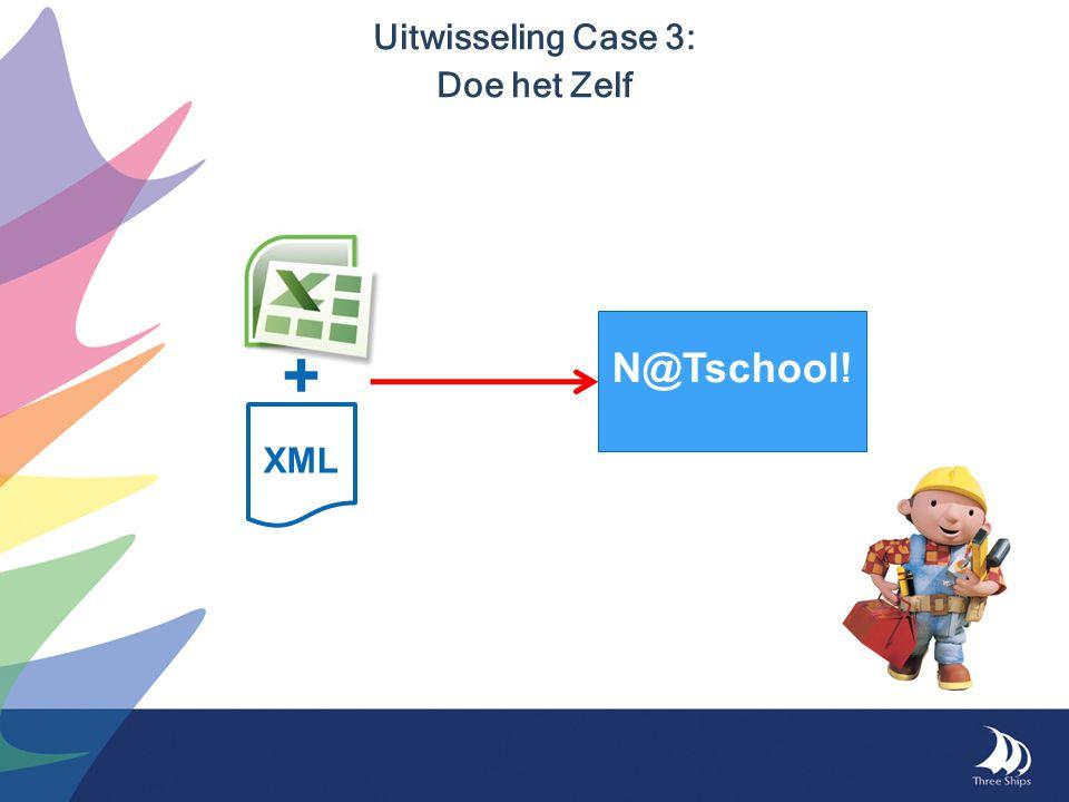 Uitwisseling Case 3: Doe het Zelf N@Tschool! XML +