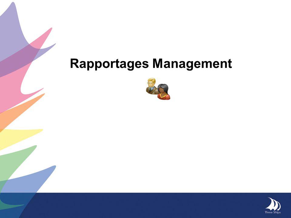 Rapportages Management