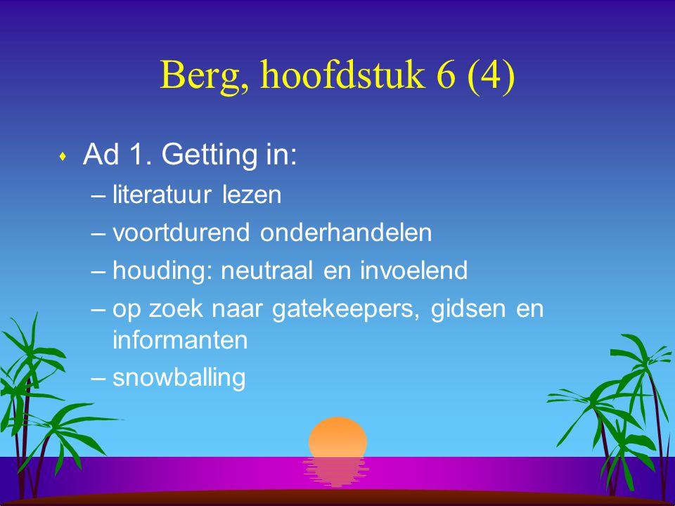 Berg, hoofdstuk 6 (4) s Ad 1.
