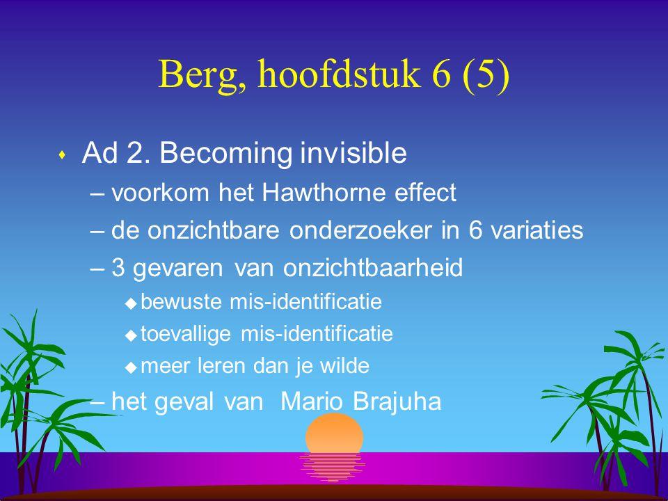 Berg, hoofdstuk 6 (5) s Ad 2.