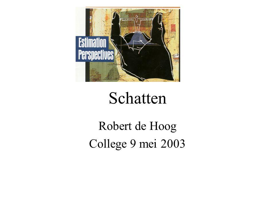 College Projectmanagement 9 mei 2003 22 Op naar het Web Gebaseerd op applicatietype