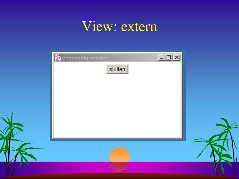 View: extern