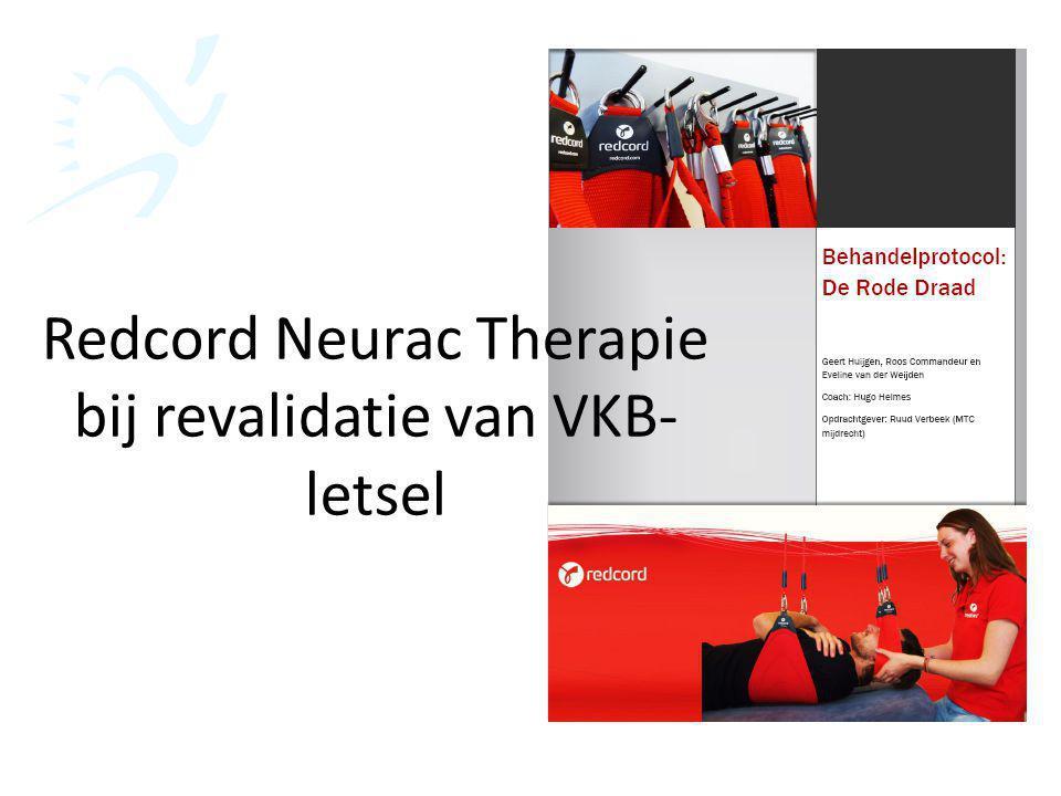 Redcord Neurac Therapie bij revalidatie van VKB- letsel