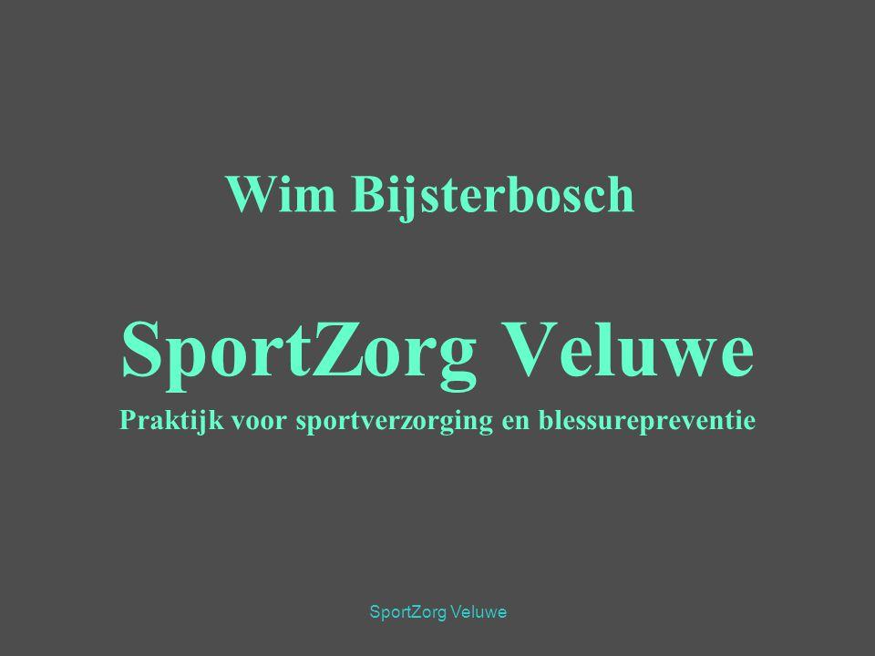 SportZorg Veluwe Wim Bijsterbosch SportZorg Veluwe Praktijk voor sportverzorging en blessurepreventie