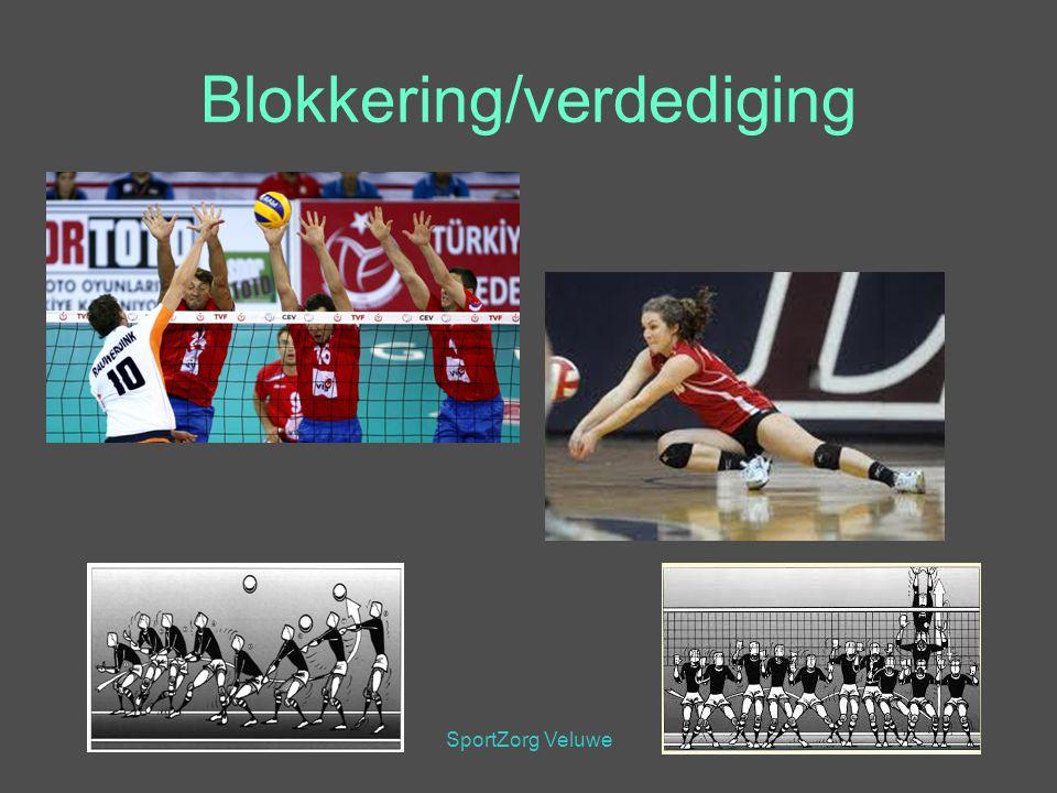 SportZorg Veluwe Blokkering/verdediging