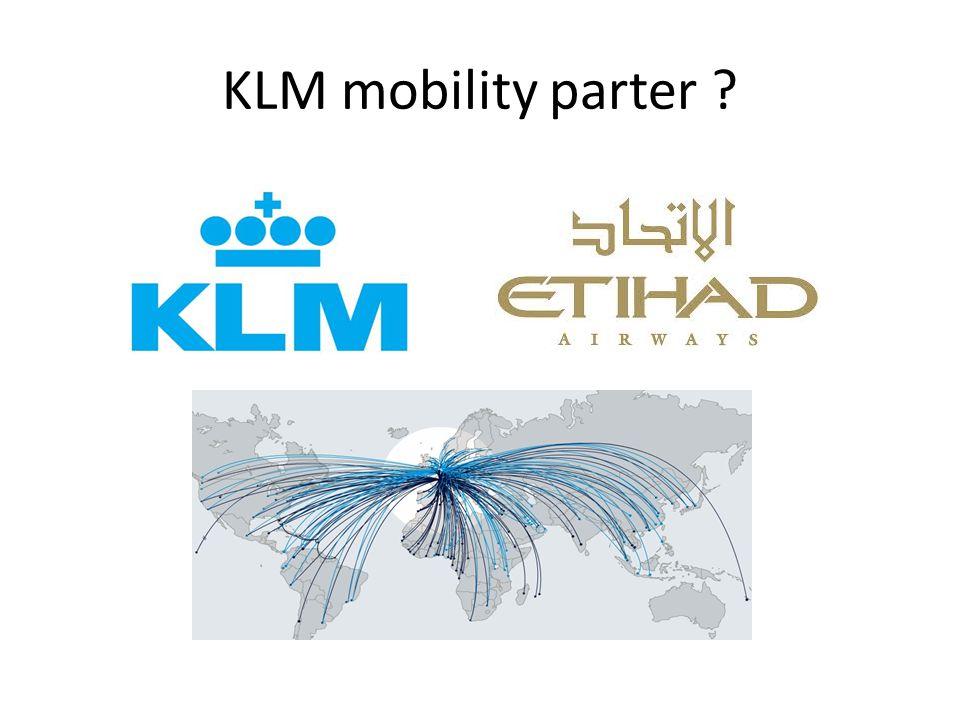 KLM mobility parter ?